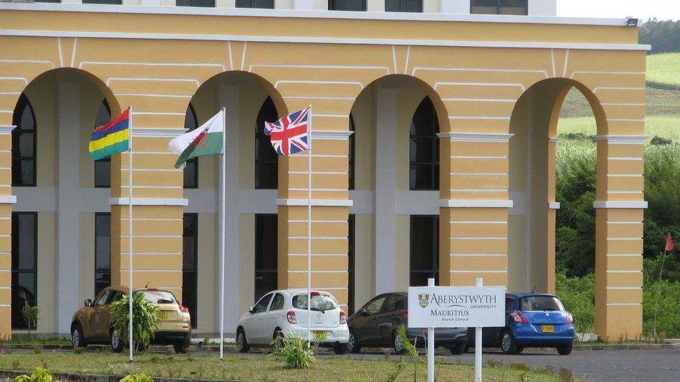 Aberystwyth University's Mauritius campus