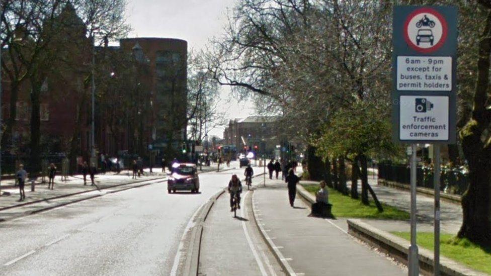 Oxford Road bus lane