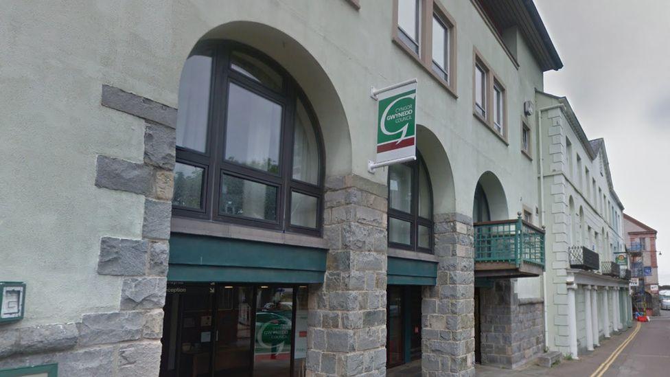 Gwynedd council building