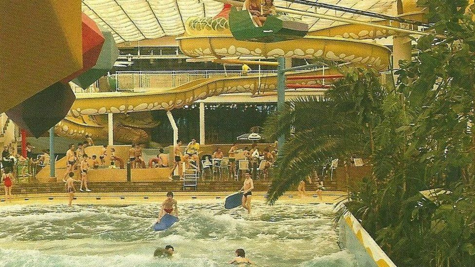 Europe's first indoor surfing pool