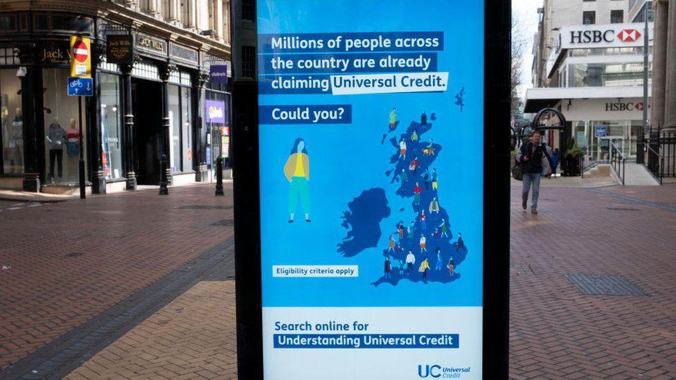 Universal credit advert