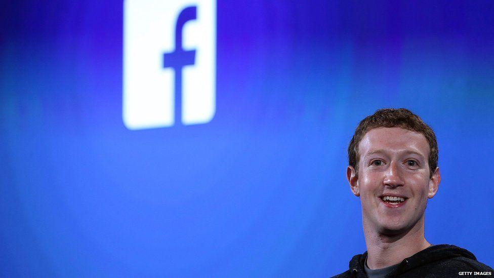 Stock shot of Mark Zuckerberg 4 April 2013