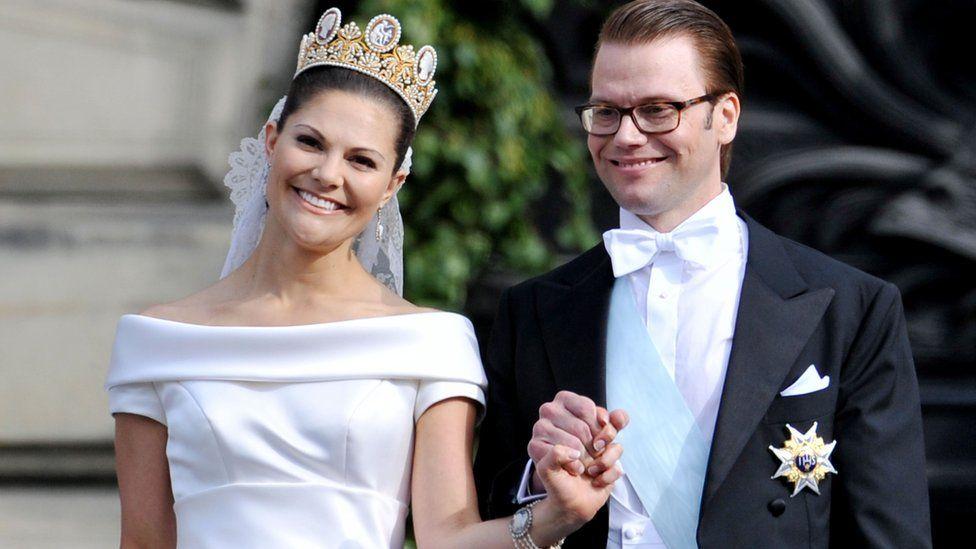 Шведская кронпринцесса Виктория и Даниэль Вестлинг