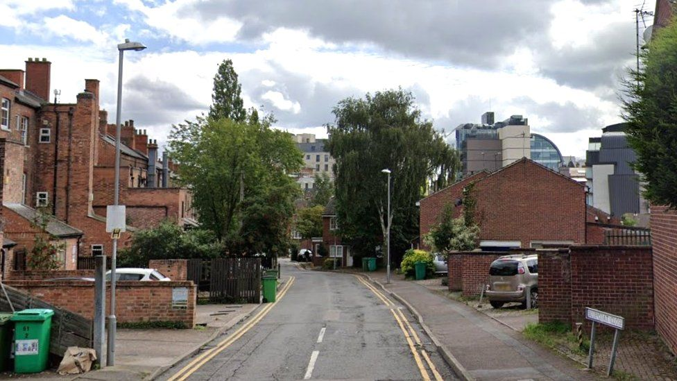 Bluecoat Close, in Nottingham
