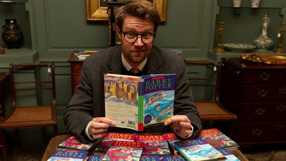 Harry Potter Hansons Auctioneers Jim Spencer