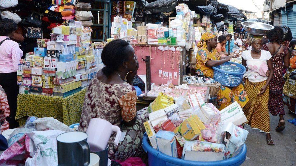 Street vendor selling drugs
