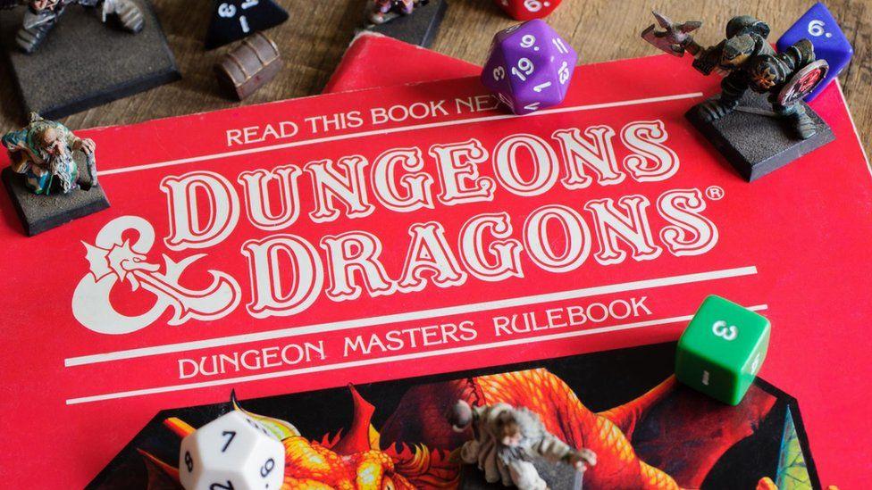 D&D rulebook