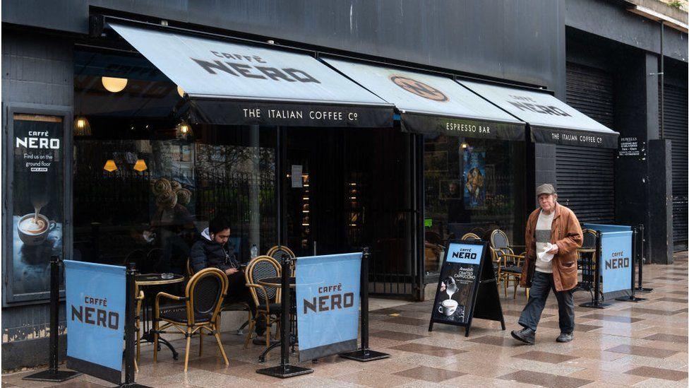 A Caffe Nero