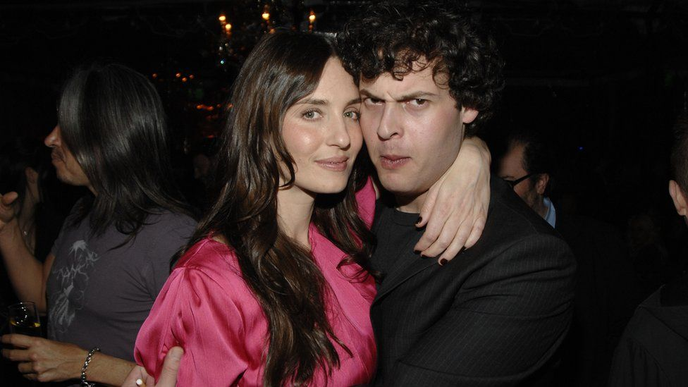 Amanda Braun and Blake Leibel attend a party at Chateau Marmont in 2008