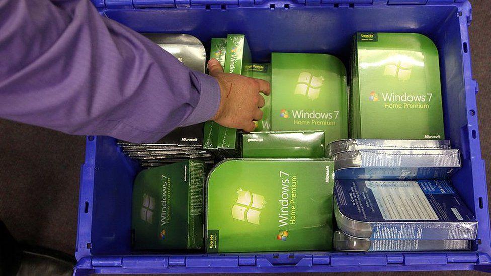 Windows 7 in crate