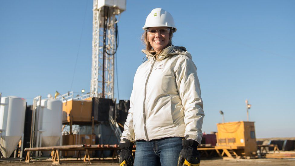 Kirsten Marcia, CEO of Canadian geothermal energy firm DEEP Corp