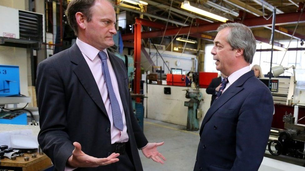 Douglas Carswell (left) and Nigel Farage