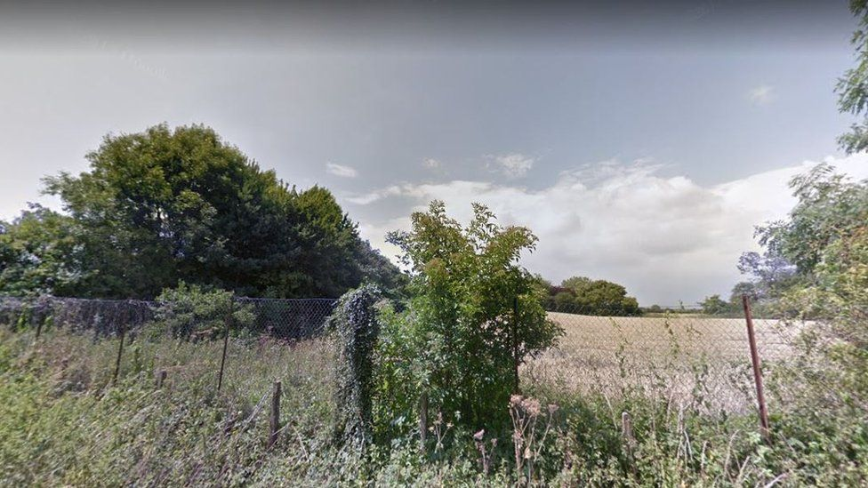 Site of the planned development