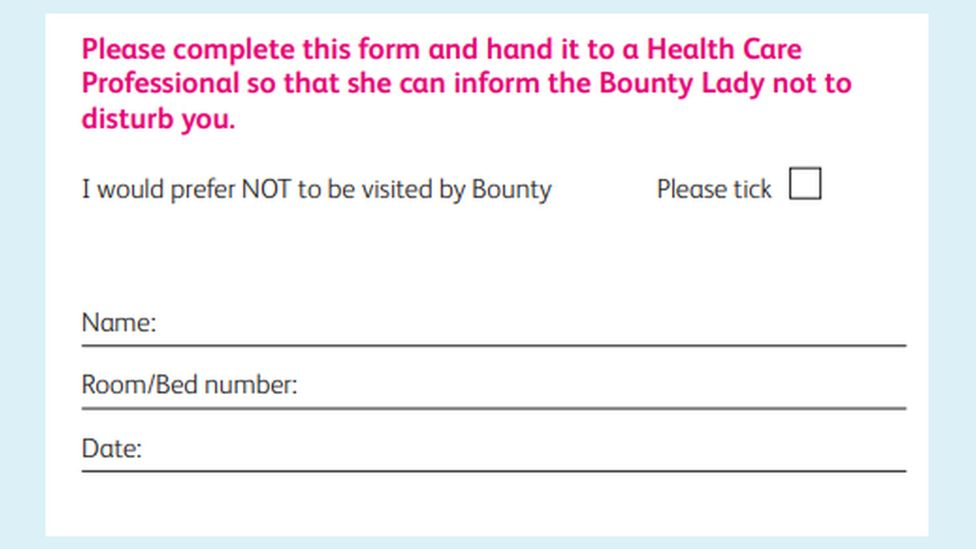 Bounty opt-out card