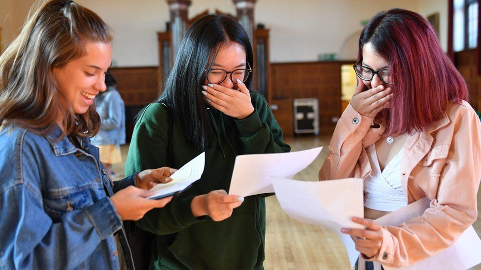 Pupils in Birmingham discover results