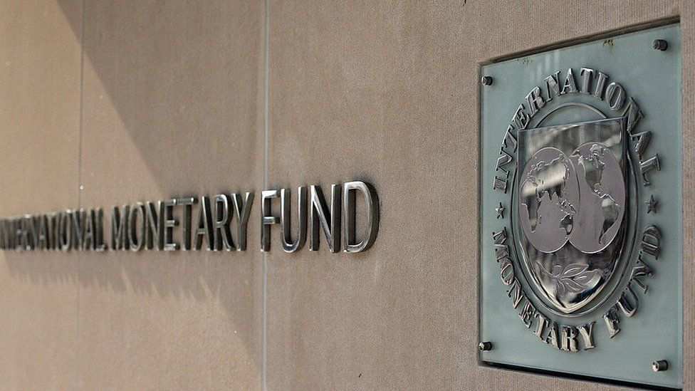 IMF signage