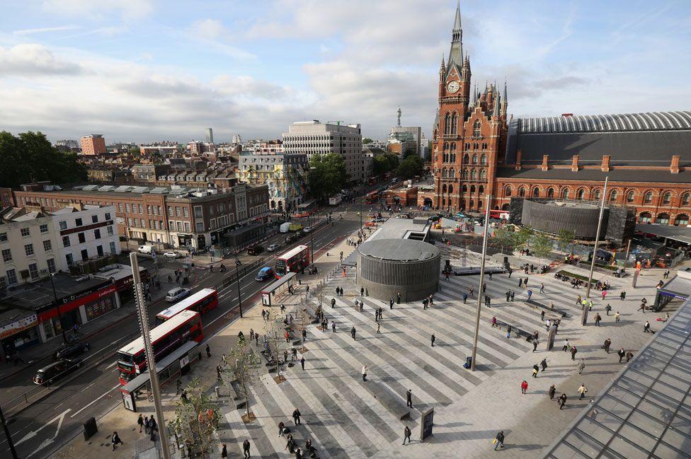 Kings Cross in London