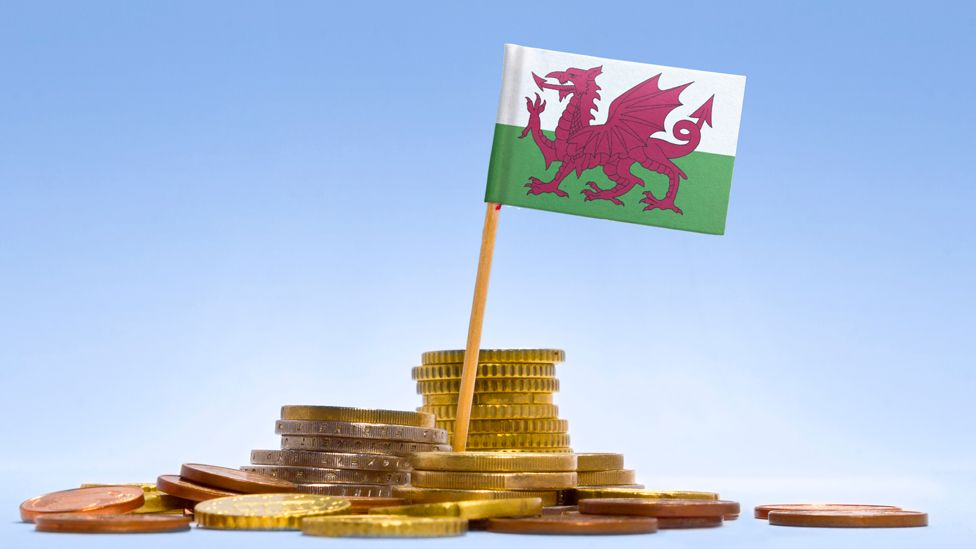 Wales money pile