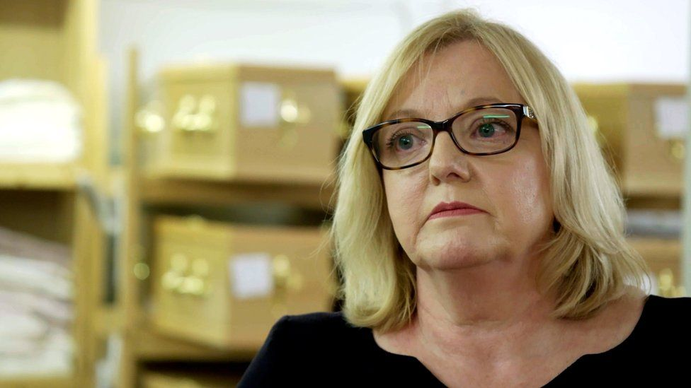 Alison Crake speaking to Panorama about how the