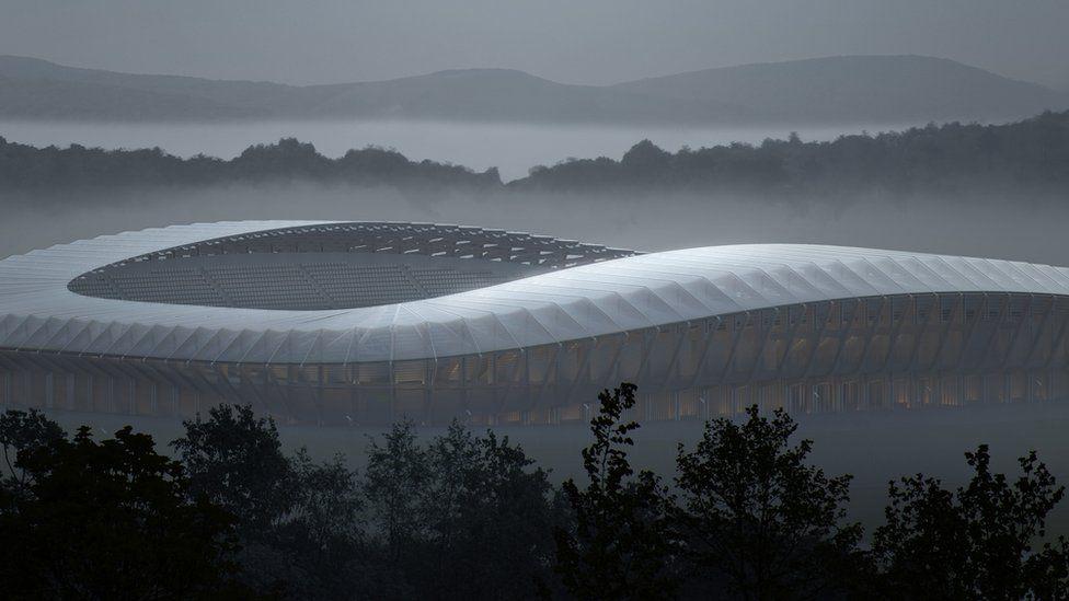 New stadium design