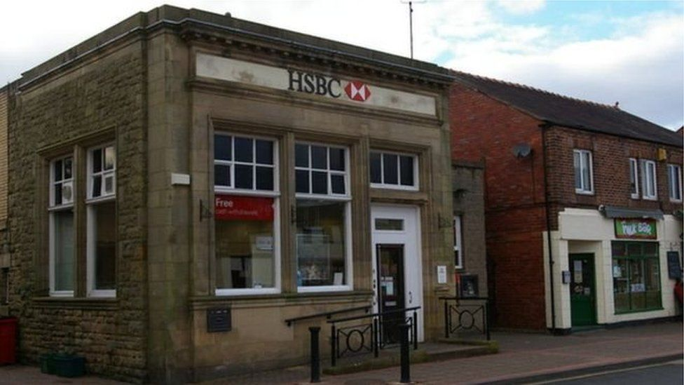 Banc HSBC yn Y Waun