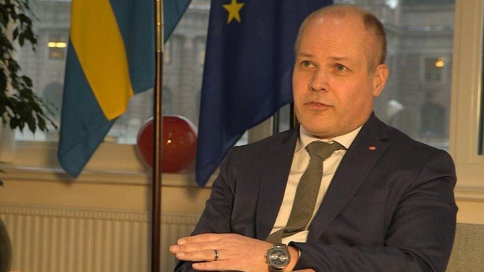 Sweden's Justice Minister Morgan Johansson