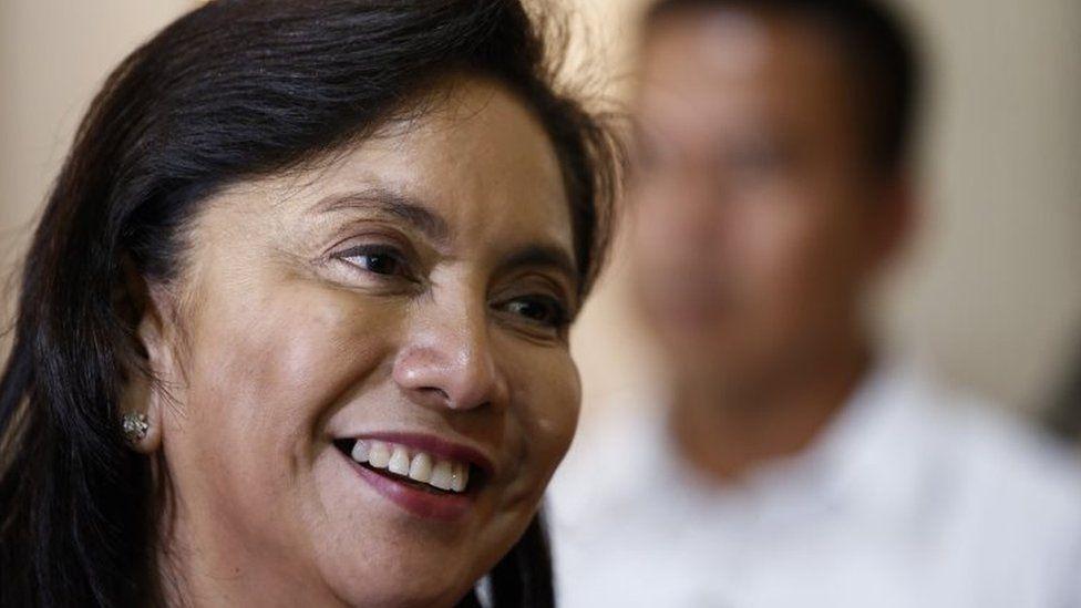 Philippine Vice President Leni Robredo in October