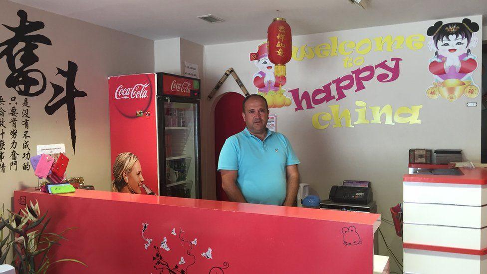Happy China owner Cihan Yavuz