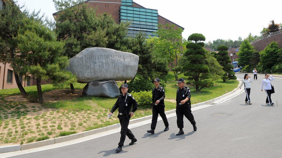 South Korea's Hanawon training centre for new arrivals from the North