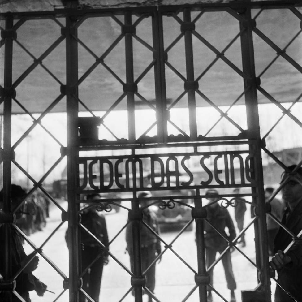 The gate of Buchenwald