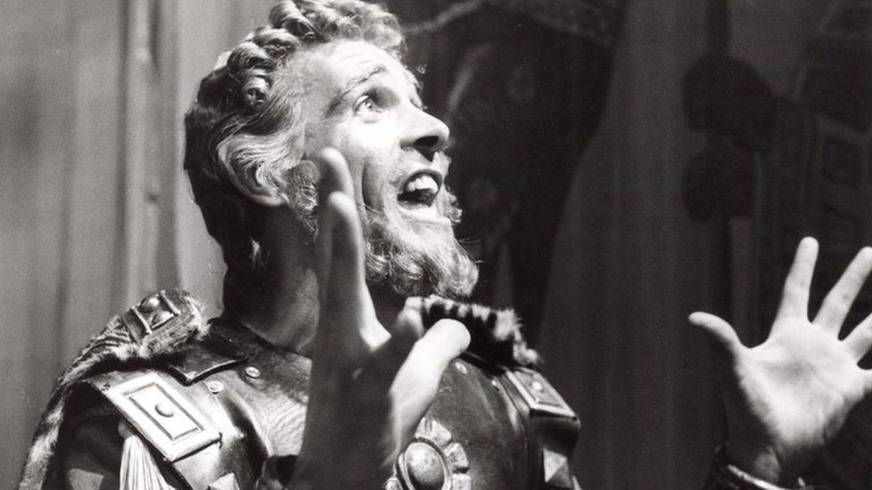 """Sean Connery as Alexander the Great in a BBC adaptation of Terence Rattigan's play """"Adventure Story"""", in 1961"""