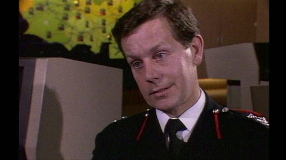 Bob Graham, then a Manchester fire fighter, on Newsnight in 1985