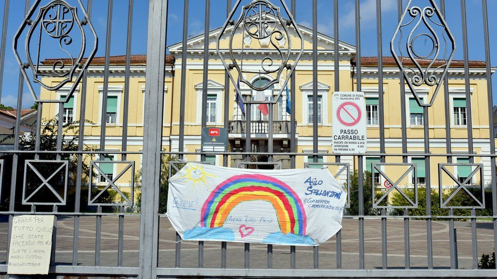 The Spallanzani hospital in Rome has been at the forefront of Italy's treatment of the pandemic