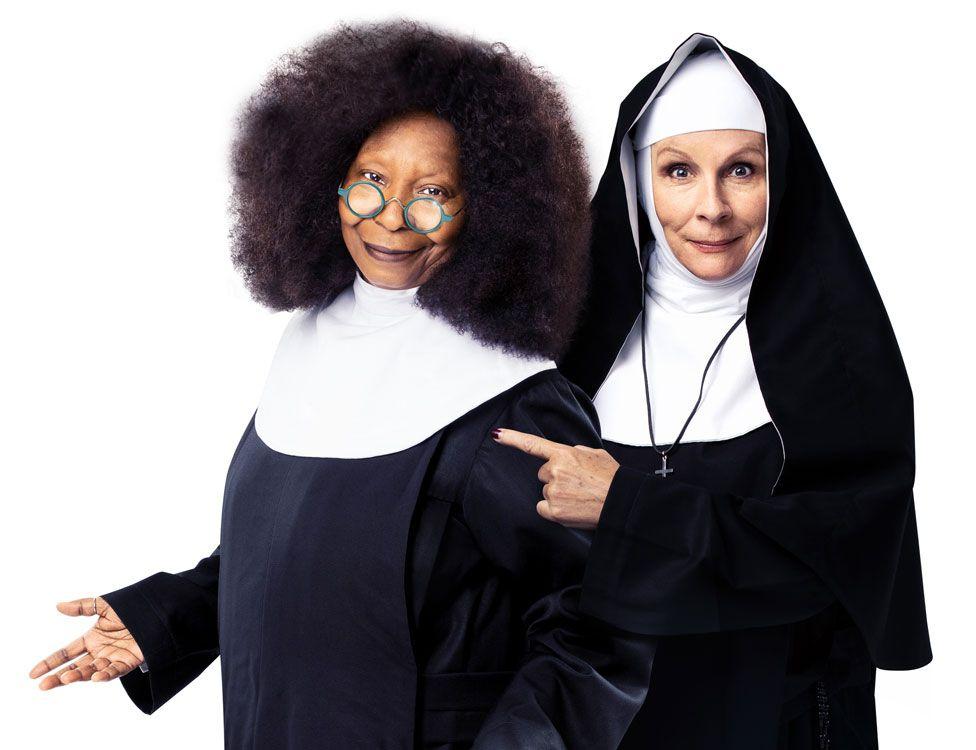 Whoopi Goldberg and Jennifer Saunders