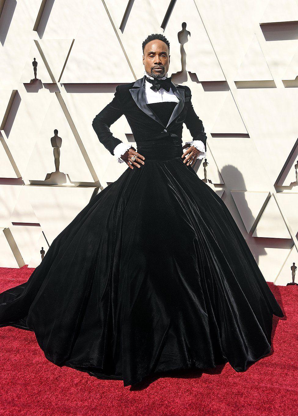 Billy Porter at the Oscars