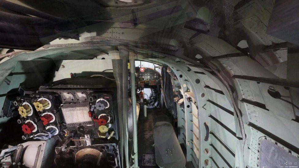 Inside of bomber