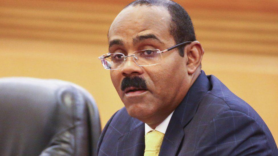 Antiguan Prime Minister Gaston Browne