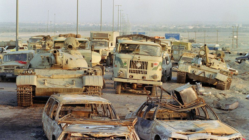 Iraqi army tanks