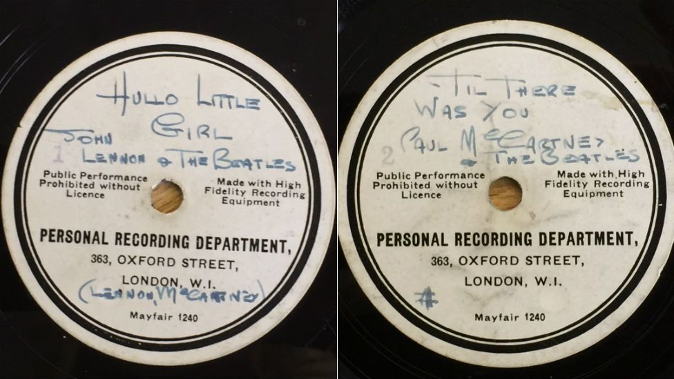 First Beatles record