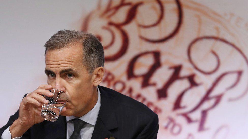 Bank of England governor, Mark Carney