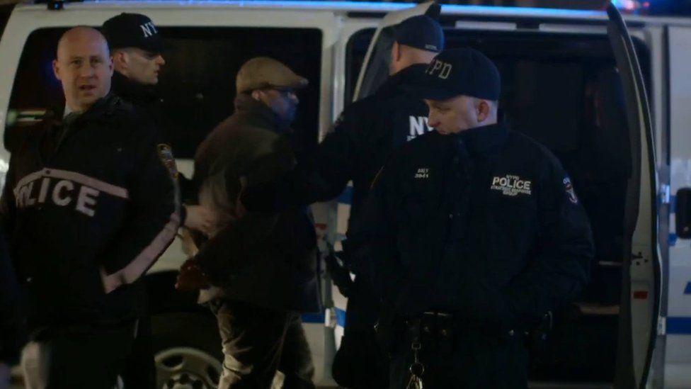 Dennis Flores, a New York cop watcher