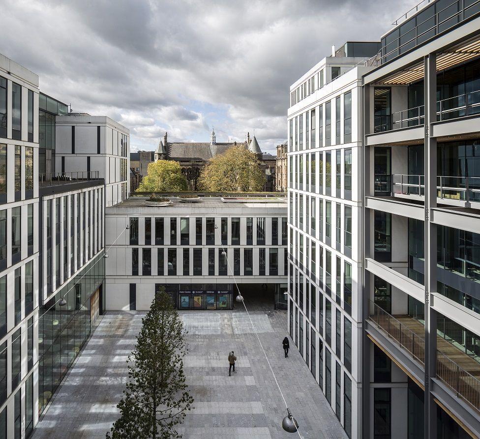 Bayes Centre, Edinburgh - Bennetts Associates
