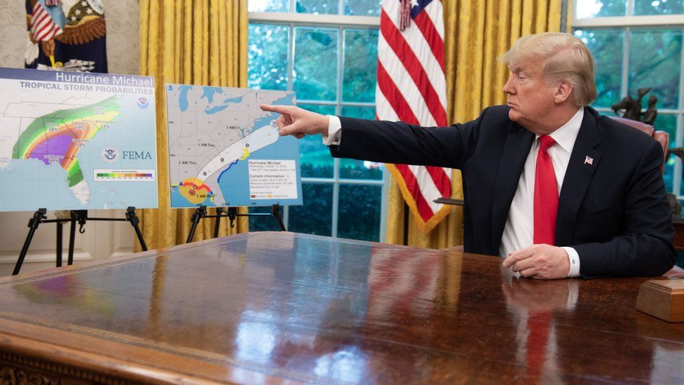 ترامب يقترح ضرب الأعاصير بالقنابل النووية قبل وصولها إلى الأراضي الأمريكية