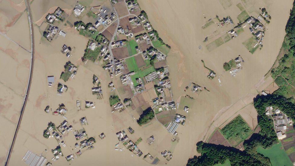 Satellite Imagery of Typhoon Habigis
