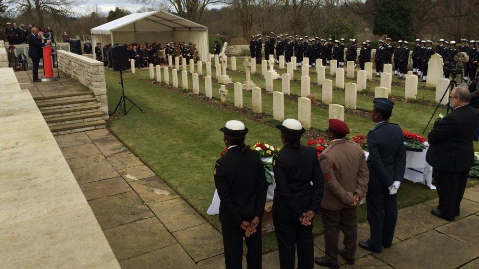 The more than 600 members of the South African Native Labour Corps who died on SS Mendi were remembered in Southampton