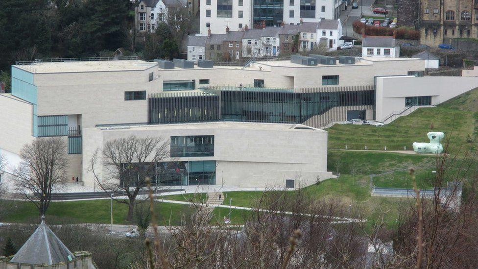 Pontio arts centre in Bangor