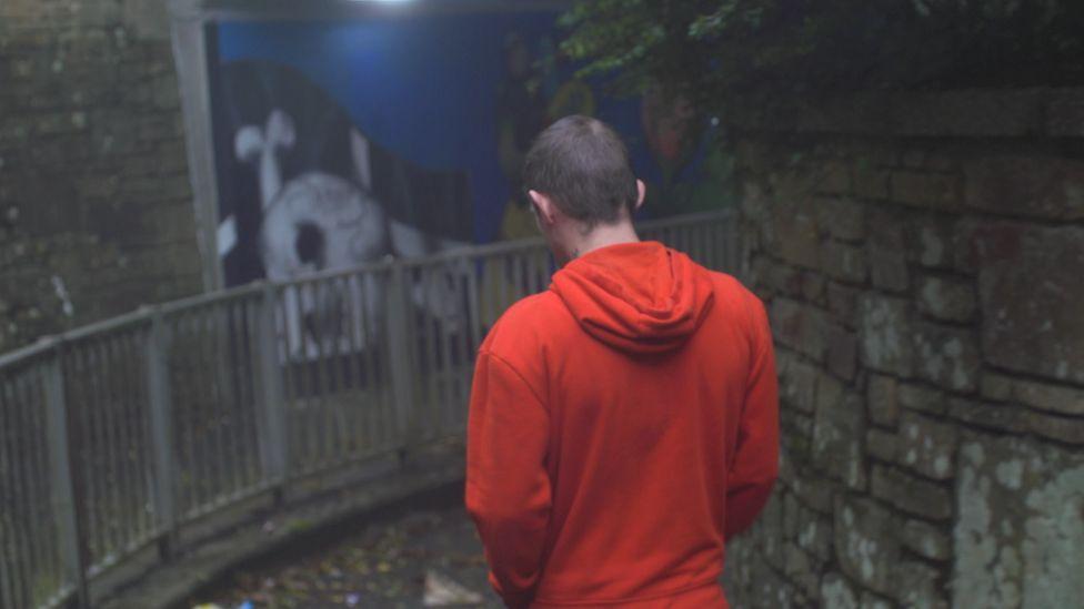 Nicholas in Treneere underpass