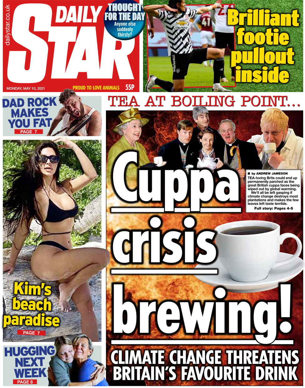 The Daily Star front page 10 May 2021