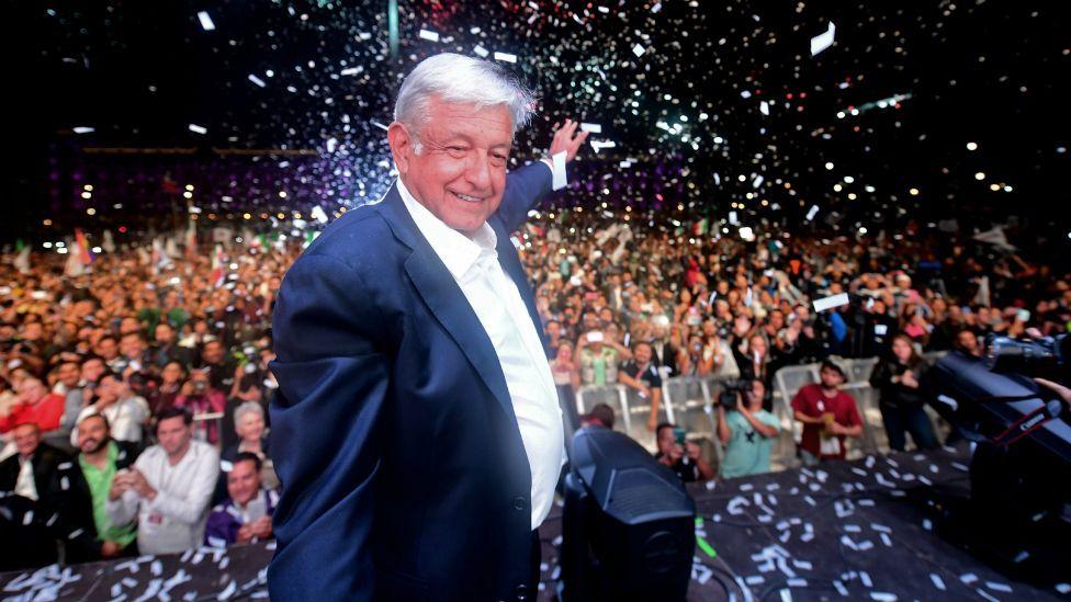 López Obrador obtuvo una votación histórica en las elecciones presidenciales.