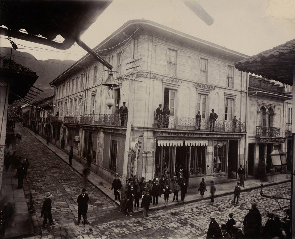 Esquina de la Calle Real, Bogotá